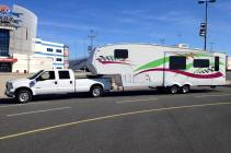 Our Truck and Trailer!