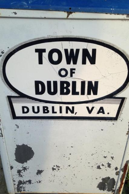We lived in the small town of Dublin, VA for 6 months