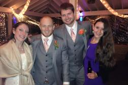 With the Bride & Groom!