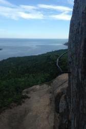 Beehive Trail- Climbing Metal Rungs!