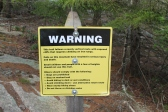 Beehive trail: dangerous! Great for my fear of heights ha