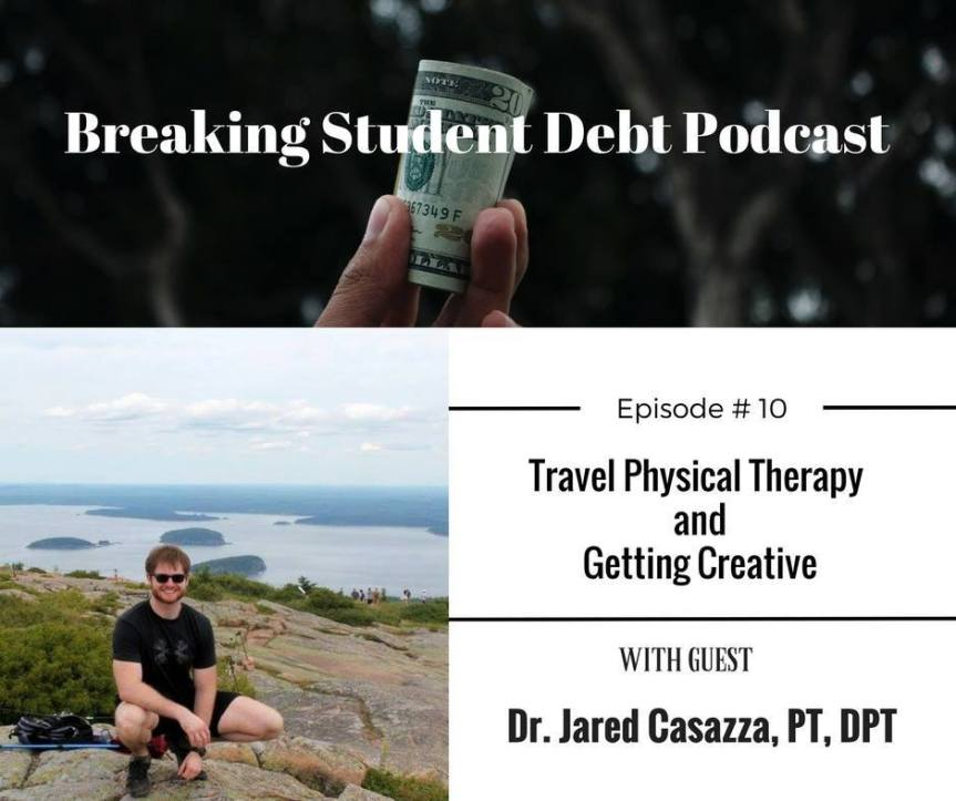 """Interview on the """"Breaking Student Debt""""Podcast"""