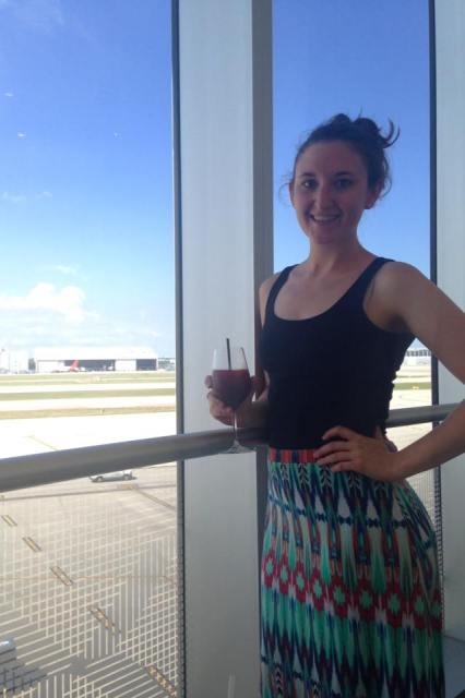 Centurion Lounge at Miami Airport