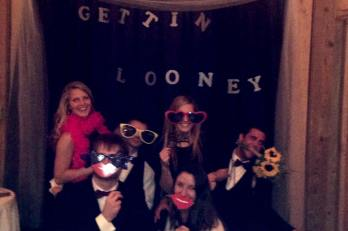 Photo booth fun with old and new friends!