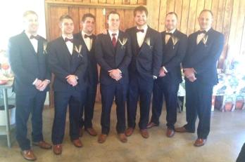 Groom & Groomsmen - Jared's friend Anthony from college!