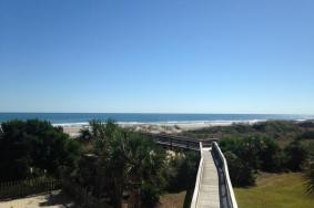 Beautiful beach view for the weekend at Wrightsville Beach