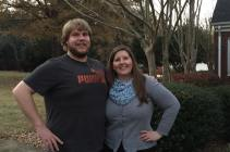 My sister & brother-in-law with the classic hand on hip