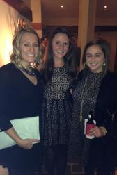 Ladies at the holiday party
