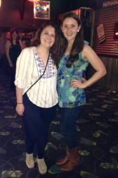 Had fun line dancing with Danielle