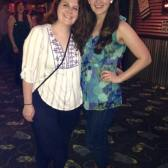 Had fun line dancing with Danielle