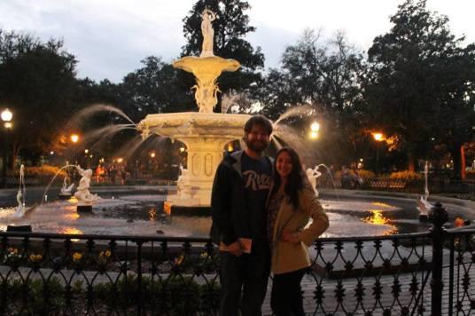 Enjoying Savannah