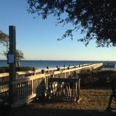 Pier at the campground
