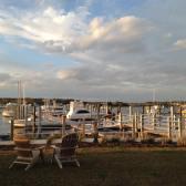 Beautiful marina in Beaufort