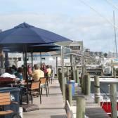 Bar/restaurant at a pier on Ocracoke