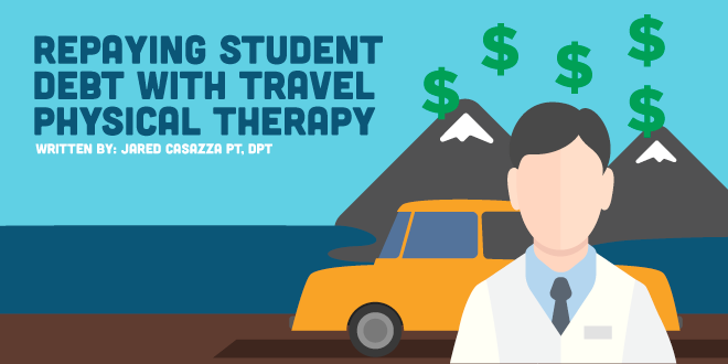 """Guest Post on NewGradPhysicalTherapy: """"Repaying Student Debt with TravelPT"""""""