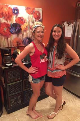 Got to spend 4th of July in VA beach and see friends!