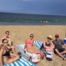 Got to enjoy a beach day!