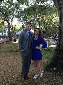 My handsome date at A Charleston Affair