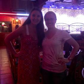 Had fun being back at my favorite country line dance bar!