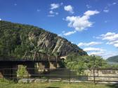 Beautiful day for a hike at Harpers Ferry