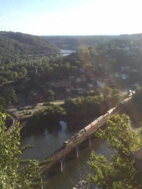 Amazing view of Harpers Ferry