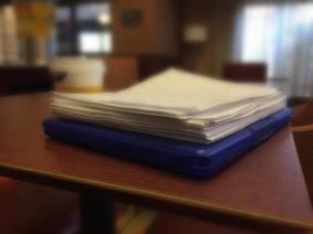 Paperwork..