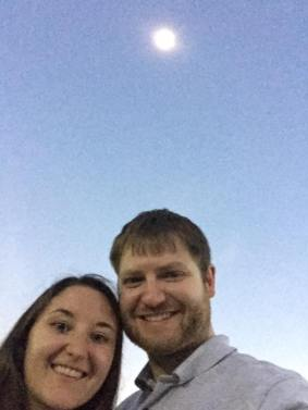 We got to see the total eclipse, full darkness and all, right from the parking lot at work