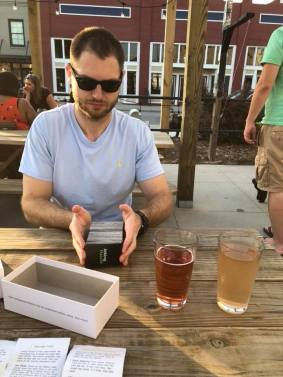 Playing Games at a Brewery!