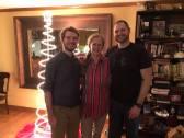 Jareds brother, mom and Jared