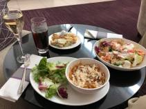 Airport Lounge Food and Drinks