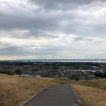 Views of the city from Calton Hill