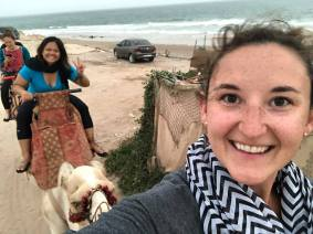 Camel selfies are challenging!