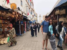 Jared and I in Essaouira