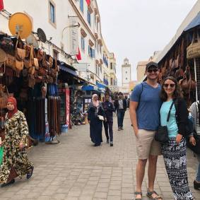 Jared and I in Essaouira