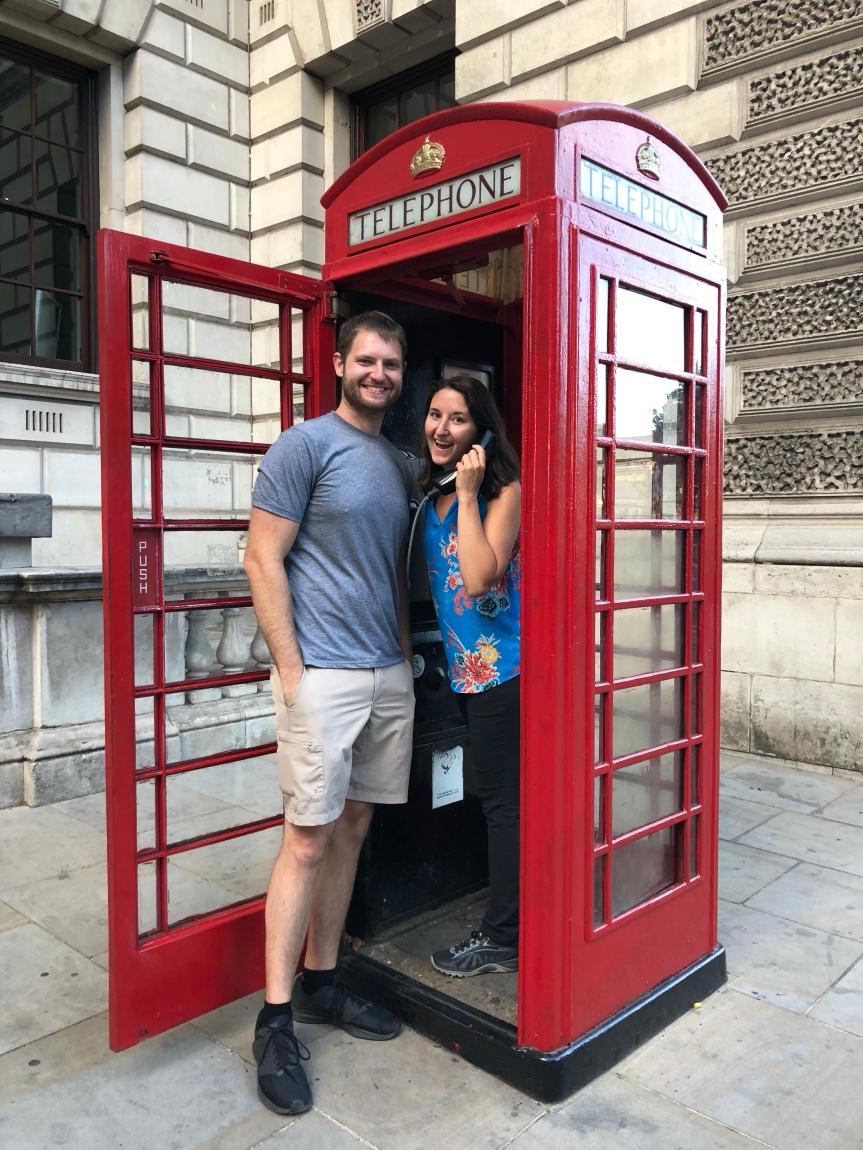 Around the World Trip:London!