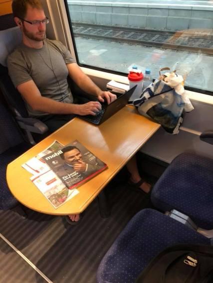 Train seats