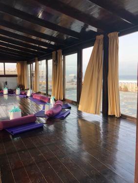 Yoga Shala at the Villa Mandala