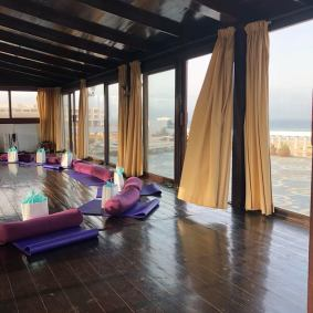 Yoga Shala at the Villa Mandala