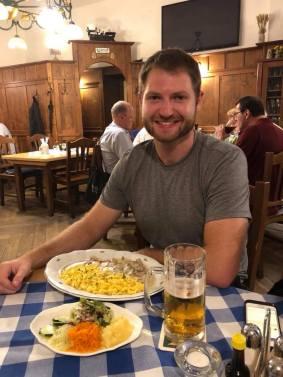 Bavarian Dinner!