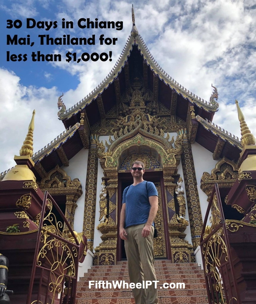 Around-The-World Trip Update and Expenses: Chiang Mai, Thailand