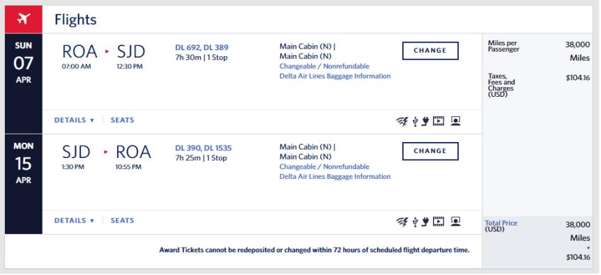 delta flight for caribbean post