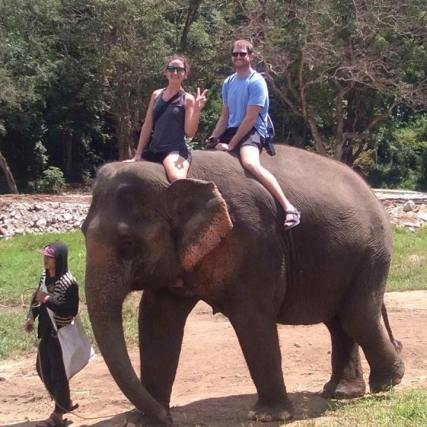Elephant Riding!