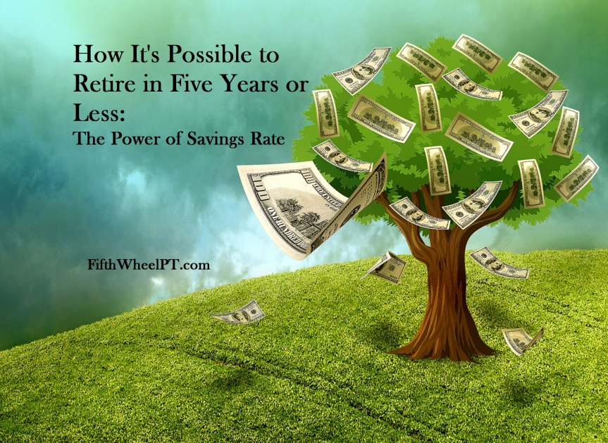 How It's Possible to Retire in Five Years or Less: The Power of Your Savings Rate