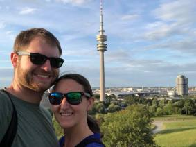 Overlooking OlympiaPark