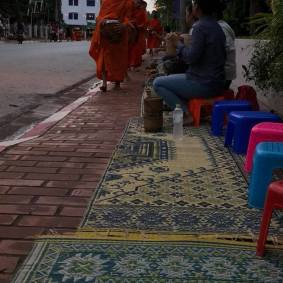 Monks and Alms Givers
