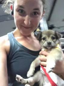 Gym puppy!