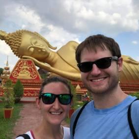 Huge golden Buddha!