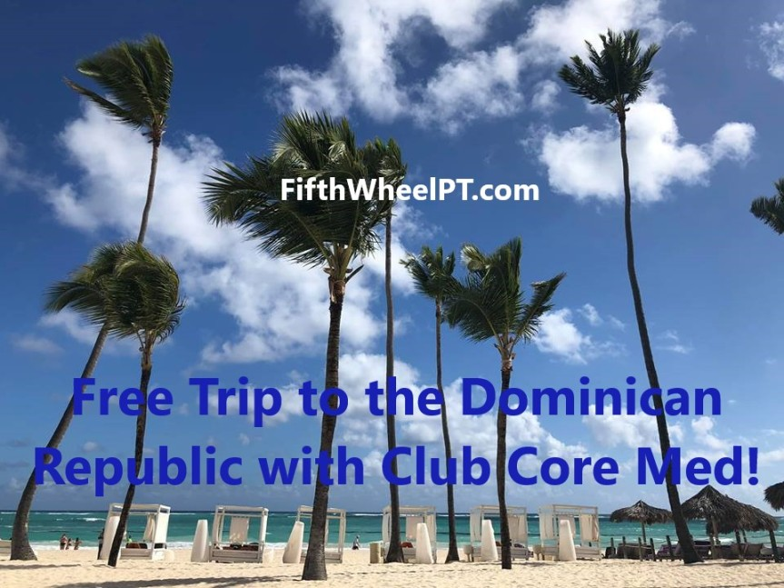 Free Trip to the Dominican Republic with Club Core Med!
