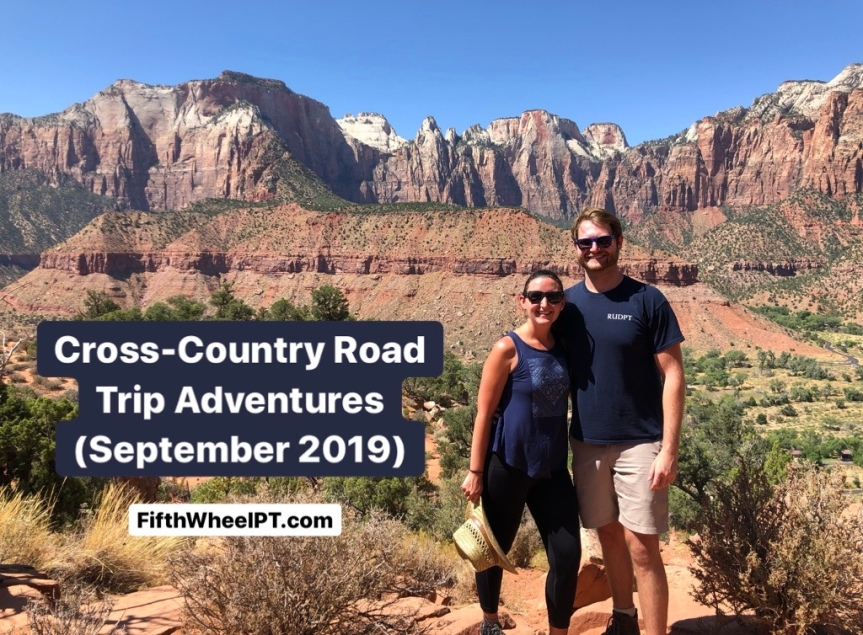 Cross-Country Road Trip Adventures (September 2019)!